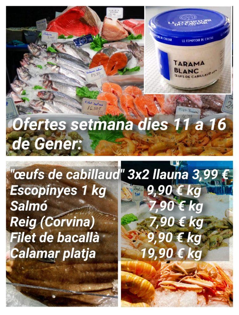 Ofertes del 12 al 16 de Gener del 2021 a Peixateries Gourmet Andorra