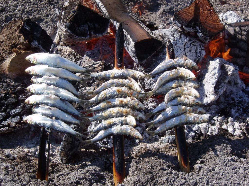 Per Sant Joan: És l'època del marisc, especialment dels musclos del Delta de l'Ebre, del peix blau com el verat, les sardines, el bonítol, la tonyina... Per l'aperitiu seitons o sardines i com a plat principal el sorell, el lluç, la palometa, el peix espasa o uns bons llagostins, llamàntol, escamarlans o sípies.