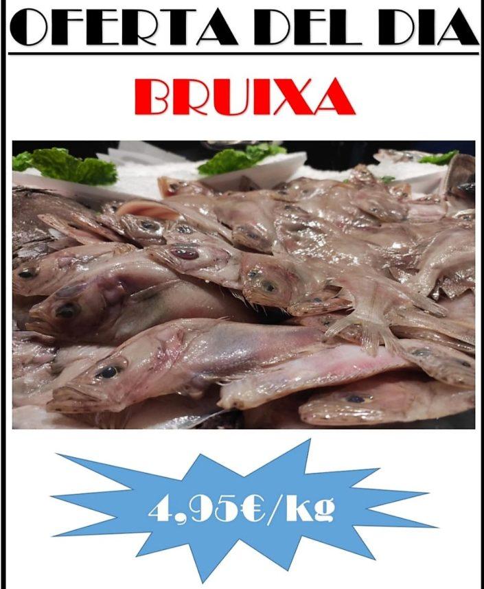 Avui dimecres a Peixateries Gourmet trobareu al millor preu el peix i el marisc. Tenim també un preu especial per les Bruixes i el Llobarro Salvatge.