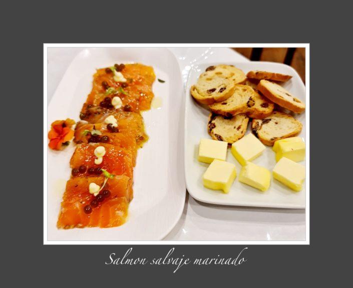 Una clienta nostra l'Andreia de l'Arrosseria Andorra ens ha enviat aquestes fotos dels seitons amb vinagre, el salmó salvatge marinat i les broquetes de tonyina i salmó, algú ahir va tenir un bon sopar i molt saludable.
